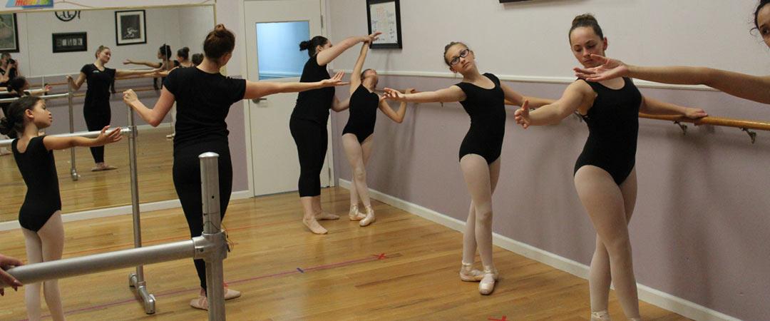 technical dance training